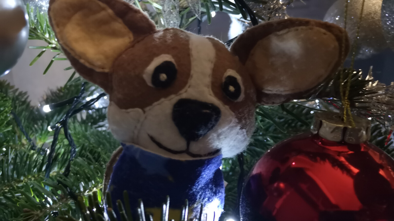 corgmas christmas prezenty